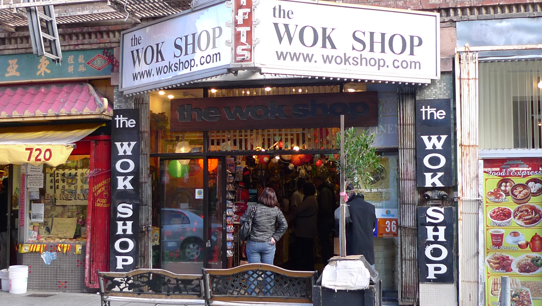 Genial Located In The Heart Of San Franciscou0027s Famous Chinatown, The Wok Shop Is A  Family Owned And Operated Business Specializing In Hard To Find Asian  Cooking ...