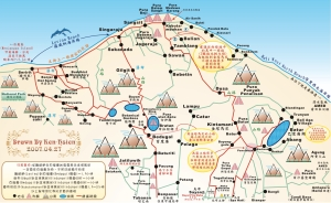 Lovina-map