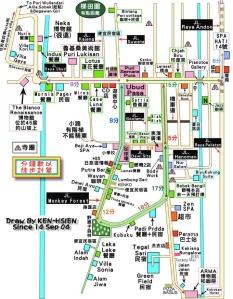 Ubud-map