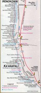 West-Maui-Map